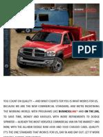 2008 Dodge Commercial Trucks Ebrochure