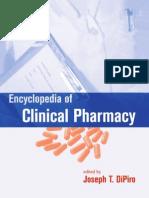 Encyclopedia of Clinical Pharmacy