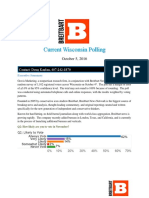 10 05 Wisconsin Breitbart:Gravis