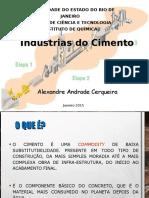 Processo de Produção do Cimento