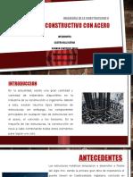 Sistema Constructivo Con Acero