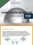 PPThumectación de Sólidos
