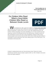 Journal of Literacy Research 2005 Korat 289 324
