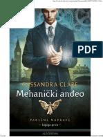 Kasandra Kler Mehanicki Angeo