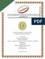 Derecho Procesal Penal Cuadro Comparativo Actor Civil y Tercero Civil