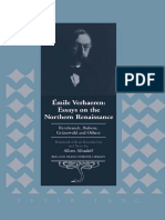 (Belgian Francophone Library) Émile Verhaeren, Albert Alhadeff (Tr)-Émile Verhaeren_ Essays on the Northern Renaissance_ Rembrandt, Rubens, Grünewald and Others-Peter Lang International Academic Publi