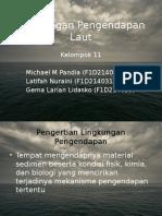 Lingkungan Pengendapan Laut