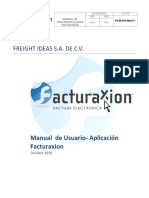 Manual de Usuario Aplicaci n Facturaxion