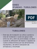 FUNDACIONES SEMIPROFUNDAS - TUBULONES