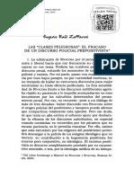 Zaffaroni - Las Clases Peligrosas