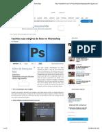 Facilite suas edições de foto no Photoshop - Photoshop
