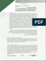 Sistematizacion de Experiencias, Investigacion y Evaluacion