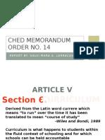 CMO 14 Powerpoint
