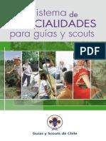 Sistema Especialidades Para Guias y Scouts