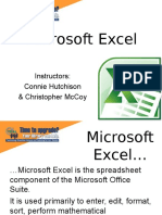 Microsoft Excel Shortcuts