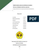 K3 Laporan PT pertamina