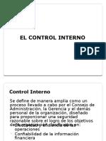 6. El Control Interno (1)