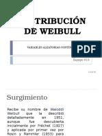 Distribución de Weibull