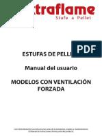 Manual Instrucciones Estufa Pellets Extraflame