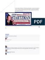 Jim Startzman Lies