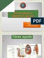 Tórax y abdomen agudo