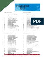 Temario  completos todo los cursos totalmente editado