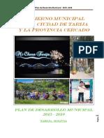 Plan de Desarrollo Municipal Cercado - Tarija