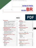 Manual Sistema Frenos Nissan Primera p11 01 Comprobaciones Circuitos Componentes Discos Tambor Diagnostico Averias