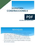 Construcciones II. 2014 ,,,