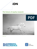 FINAL-The Future of Equity Research (BBG) ( 10 Oct)