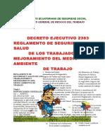 Instituto Ecuatoriano de Seguridad Social Ley 2393