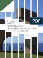 PLAN NACIONAL DE CONSERVACIÓN DEL PATRIMONIO CULTURAL DEL SXX %282016.06.02%29