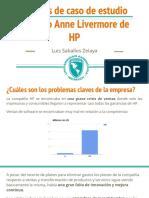 Luis Saballos - Análisis de Caso de Estudio de Éxito Anne Livermore de HP - Trabajo Final Teoría de La Administración de Empresas