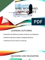Week 1 - Assigning Work and Delegating Duties v2