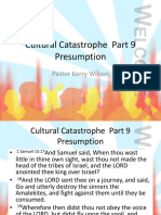 Cultural Catastrophe Part 9