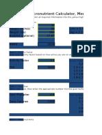 Copy of Macronutrient Calculator
