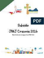 SUBSIDIOS JMJ 2016