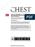 2007 Pulmonary Rehabilitation Joint Accp Aacvpr Evidence Based Clinical Practice Guidelines