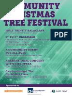 holy trinity christmas tree festival 2016