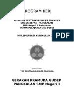 Program Kerja Pramuka Smp Saketi2