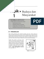 Topik 1 Budaya Dan Masyarakat