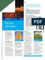 Mysore Karnataka MiniGuide