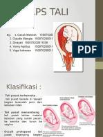 Prolaps Tali Pusat-bedah Buku