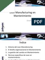 Lean Manufacturing Mantenimiento Uruman 2014