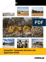 Waste Landfill CAT Equipment Selection Application