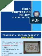 Child Protection Policy (Slide Presentation; CDT)