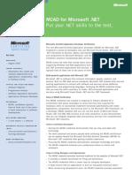 MCAD_datasheet