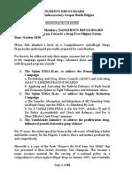 DDB Memorandum Brief