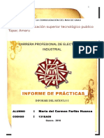 Informe de Practicas Modulo 1