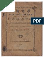 (1933) Hoa Ngữ Chỉ Nam - La Quang Nhat